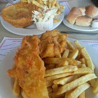 Photo taken at Cockney Kings Fish & Chips Ltd by Mary Jane K. on 10/13/2015