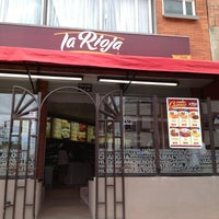 Photo taken at Panaderia La Rioja by Ricardo V. on 8/23/2013
