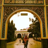 Photo taken at Masjid Sunda Kelapa by Pipit D. on 11/8/2013