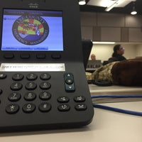 Photo taken at Lee County EOC by Erin W. on 3/17/2015