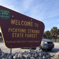 Photo taken at Picayune Strand State Forest by Erin W. on 1/25/2014