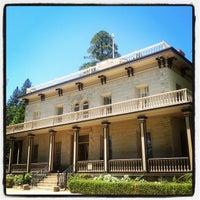 Photo taken at Bowers Mansion by Christopher B. on 5/19/2013
