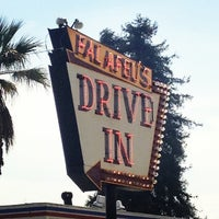 Photo taken at Falafel's Drive-In by Christopher B. on 3/14/2013