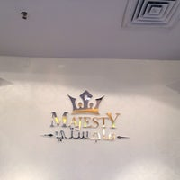 Photo taken at Majesty by Khaled A. on 3/3/2014