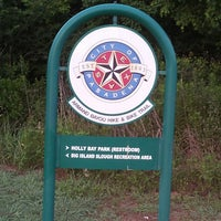 Photo taken at Armand Bayou Hike And Bike Trail by Folashade A. on 7/5/2013