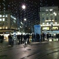 Photo taken at Paradeplatz by Mario S. on 12/10/2012
