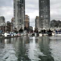 Photo taken at Aquabus Hornby St. Dock by Becky K. on 2/13/2014