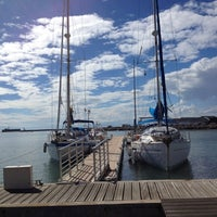 Photo taken at capitainerie Avant Port by Lily M. on 9/29/2013