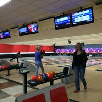 Photo taken at AMF University Lanes by 7looma on 11/15/2014