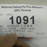 Photo taken at General Post Office (Pejabat Pos Besar) by Christine on 6/7/2016