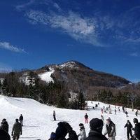 Photo taken at Hunter Mountain Ski Resort by BATU on 2/10/2013