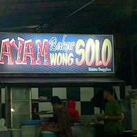Photo taken at Wong Solo by Dede F. T. on 9/13/2013