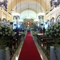 Photo taken at Santuario de San Antonio Parish by Aian N. on 12/17/2012