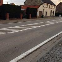 Photo taken at Halte Vijverstraat by Jarne on 9/19/2013