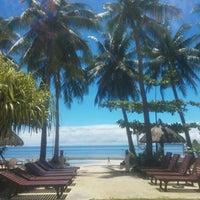 Photo taken at Cherinicole Beach Resort by Lena T. on 3/14/2017