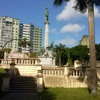 Photo taken at Praça da República by Bia N. on 7/23/2013
