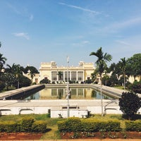 Photo taken at Chowmahala Palace by Serguei O. on 11/17/2015