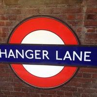 Photo taken at Hanger Lane London Underground Station by Omar R. on 6/26/2013