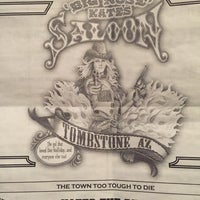 Photo taken at Big Nose Kate's Saloon by Tammy H. on 3/22/2017