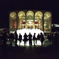 Photo taken at Josie Robertson Plaza (Lincoln Center Plaza) by Tracy E. on 10/5/2012