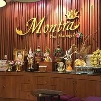 Photo taken at Montra Thai Massage & Spa by Mashael on 8/12/2016