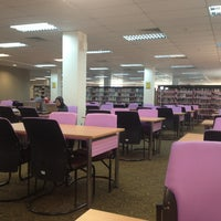 Photo taken at Perpustakaan Al Bukhari by Zainal A. on 6/14/2013
