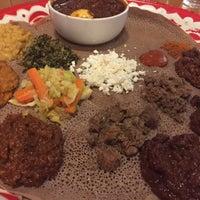 Photo taken at Awash Ethiopian Restaurant by Jaden G. on 4/2/2017