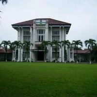 Photo taken at Kantor Pusat Penelitian Kelapa Sawit (PPKS/RISPA) by Suci R. on 6/27/2013