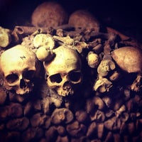 Photo taken at Catacombs of Paris by Erico N. on 9/15/2013