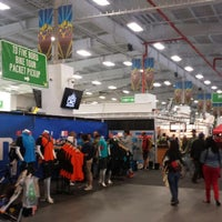 Photo taken at Bike Expo New York- Pier 36 by Ashley G. on 5/2/2014