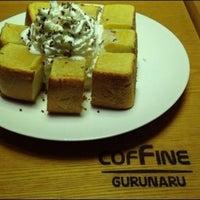 Photo taken at COFFINE GURUNARU by Akayama R. on 4/17/2014