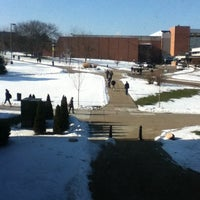 Photo taken at Eastern Michigan University by Brandon C. on 1/7/2013