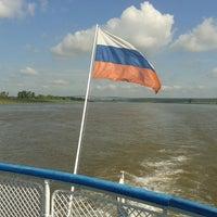 Photo taken at р. Белая by Tatiana Z. on 7/31/2014