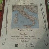 Photo taken at Marinas Italian Restaurant by Wayne P. on 12/16/2012