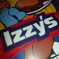 Photo taken at Izzy's by Chad R. on 4/17/2013