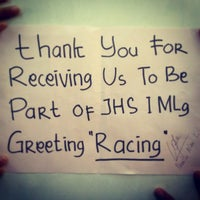 Photo taken at SMP Negeri 1 Malang by Richard H. on 10/5/2013