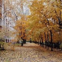 Photo taken at Гимназия № 122 им. Ж. А. Зайцевой by Алена Б. on 10/12/2013