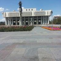 Photo taken at Кыргызская национальная филармония им. Т. Сатылганова by Asyla S. on 7/9/2013