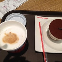 Photo taken at Caffe Pascucci 제니스 스퀘어 by Marina S. on 7/13/2014