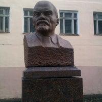 Photo taken at Памятник В.И. Ленину by Viktoriya M. on 11/6/2013