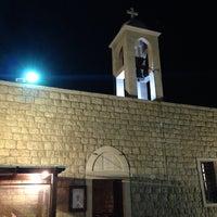 Photo taken at Ste Rafqa Church by Marc M. on 10/8/2013