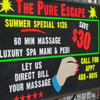 Photo taken at The Pure Escape by John B. on 8/29/2013