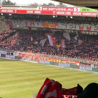 Photo taken at Stadion An der Alten Försterei by Christian G. on 3/17/2018