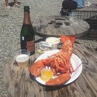 Photo taken at Larsen's Fish Market by Sean M. on 7/18/2013