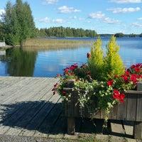 Photo taken at Kangasniemen tori by Sahin Z. on 8/31/2016