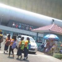 Photo taken at Jakabaring Aquatic Stadium by Alvee s. on 9/28/2013