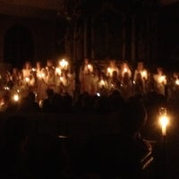 Photo taken at Nyeds Kyrka by Karma on 12/13/2012