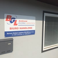 Photo taken at Barsan Global Logistics Polska SP.Z.O.O. by Ozcan T. on 9/16/2014