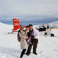 Photo taken at Mount Cook Ski Planes by Julalak V. on 5/2/2018