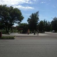 Photo taken at Памятник Петру и Февронии by Alena K. on 7/21/2013